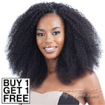 Model Model Dream Weaver Human Hair Blend Weaving - Pose Peruvian S-Z Curl  7pcs (Buy 1 Get 1 Free)