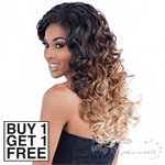 Model Model Dream Weaver Human Hair Blend Weaving - Pose Peruvian Spiral Roll 7pcs (Buy 1 Get 1 FREE)