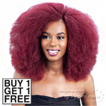 Model Model Dream Weaver Human Hair Blend Weaving - Pose Peruvian Z Coil Curl 7pcs (Buy 1 Get 1 Free)