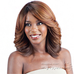 Model Model Dream Weaver Human Hair Blend Wig - EBONY
