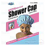 Dream World Deluxe Satin Lined Shower Cap
