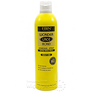 Ebin New York Wonder Lace Bond Adhesive Spray Extra Mega Hold 14.2oz