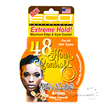 Eco Style 48 Hour Argan Edge Control Gel Play N Stay Extreme Hold 3oz