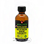 Eco Style Black Castor & Flaxseed Oil Maximum Hair Growth Formula 2oz