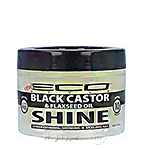 Eco Style Black Castor and Flaxseed Oil Conditioning, Shining & Styling Gel 3oz