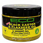 Eco Styler Black Castor & Flaxseed Oil Conditioning Styling & Shining Gel 11oz