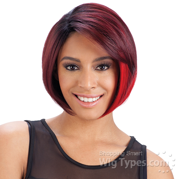 Freetress equal synthetic invisible l part wig blackjack