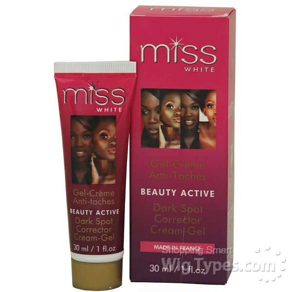 miss white beauty active dark spot cream gel 1oz