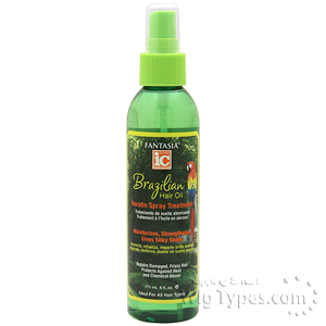 Fantasia IC Brazilian Hair Oil Keratin Spray Treatment 6oz
