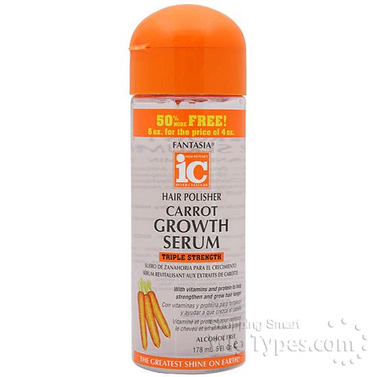 Fantasia ic hair polisher carrot growth serum 6oz wigtypes fantasia ic hair polisher carrot growth serum 6oz sciox Images