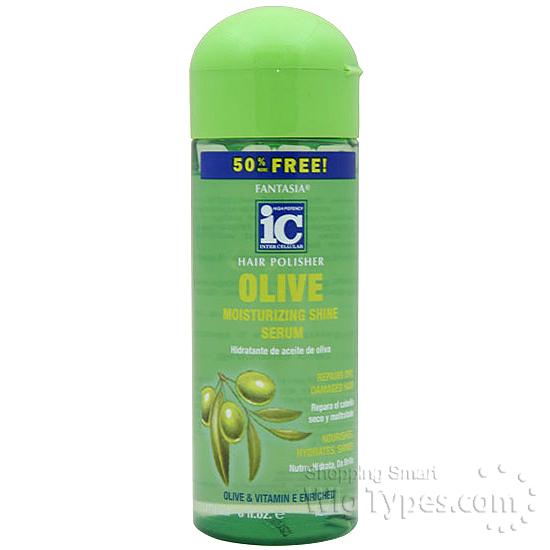 Fantasia ic hair polisher olive moisturizing shine serum 6oz fantasia ic hair polisher olive moisturizing shine serum 6oz sciox Images