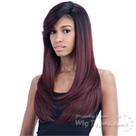 Freetress Equal Synthetic Hair Lace Deep Invisible L Part Lace Front Wig - SUNNY BLOSSOM