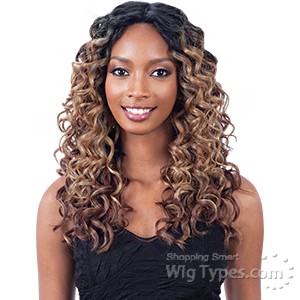 Freetress Equal Synthetic Lace Front Wig - MILES (6inch deep part)