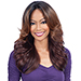 Freetress Equal  3 Way Lace Part Synthetic Hair Lace Front Wig - MARVEL (futura)