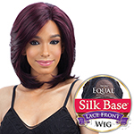 Freetress Equal Silk Base Synthetic Lace Front Wig - SILK LAYERED BOB (4x3.5 Full Lace Front)