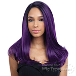 Freetress Equal Synthetic Hair Lace Deep Invisible L Part Lace Front Wig - JUSTICE