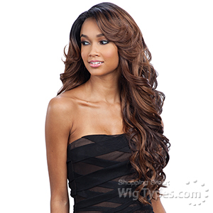 Freetress Equal Synthetic Hair Lace Deep Invisible L Part Lace Front Wig - KARISSA