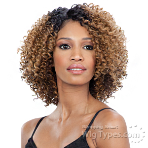 Freetress Equal Synthetic Hair Deep Diagonal Part Lace Wig - FLOWER BLOSSOM