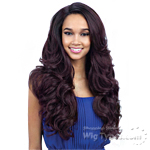 Freetress Equal Synthetic Hair Lace Deep Invisible L Part Lace Front Wig - FOLAMI