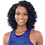 Freetress Equal Lace & Lace Synthetic Hair Lace Front Wig - LARGE ROD SET