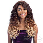 Freetress Equal Synthetic Hair Lace Deep Invisible L Part Lace Front Wig - GLOW BLOSSOM