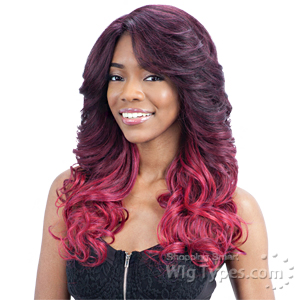 Freetress Equal Synthetic Hair Lace Deep Invisible L Part Lace Front Wig - JULIANNA