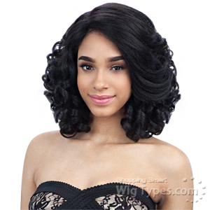 Freetress Equal Synthetic Hair Lace Deep Invisible L Part Lace Front Wig - MIAMI