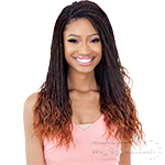 Freetress Equal Synthetic 4x4 Braid Lace Wig - MICRO GORGEOUS BRAID 22