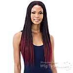Freetress Equal Synthetic 4x4 Braid Lace Wig - MICRO MILLION TWIST 22