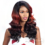 Freetress Equal Synthetic Hair Lace Deep Invisible L Part Lace Front Wig - ORANGE BLOSSOM