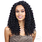 Freetress Equal Wand Curl Lace Front Wig Deep Invisible Part - PLUSH CURL (futura)