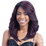 Freetress Equal Synthetic Hair Lace Deep Invisible L Part Lace Front Wig - RILEY