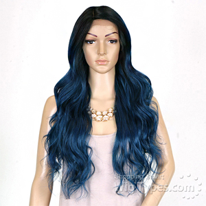 Freetress Equal Lace Front Wig Deep Invisible Part - Suzie (OTTURQUOIS)