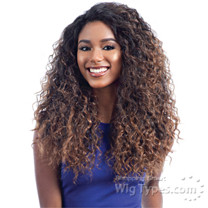 Freetress Equal Synthetic Hair Lace Deep Invisible L Part Lace Front Wig - SHALOME