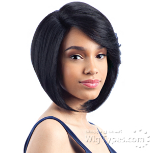 Freetress Equal Synthetic Hair Lace Deep Invisible L Part Lace Front Wig - SNOW BLOSSOM
