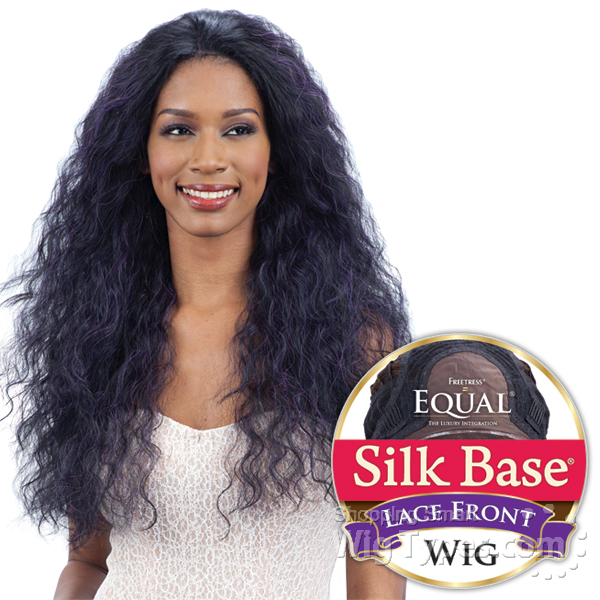 Freetress Equal Silk Base Synthetic Lace Front Wig Tabia 4x4 Full