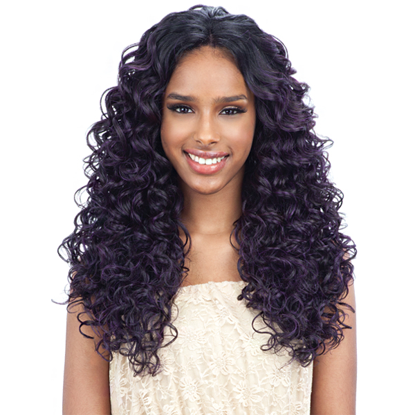 Freetress Equal 3 Way Lace Part Synthetic Hair Lace Front Wig - VICTORY (futura)
