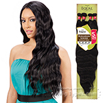 Freetress Equal Synthetic Weave - BULGARIAN LOOSE BUNDLE WAVE 5PCS (16/18/20/22 + Closure)