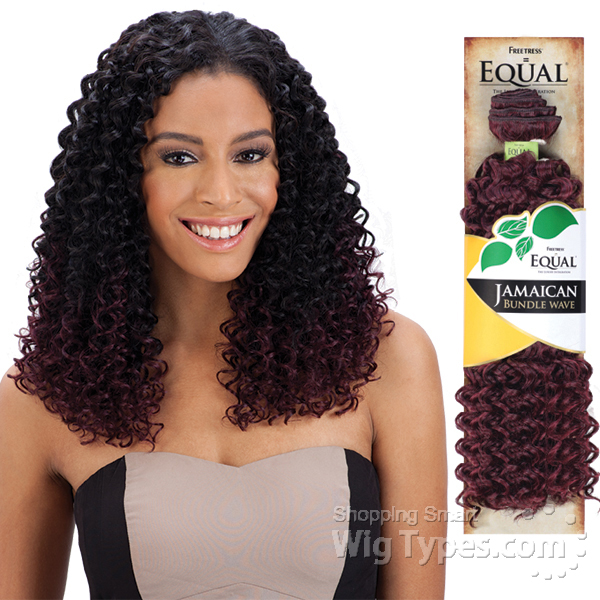 Freetress Equal Synthetic Weave Jamaican Bundle Wave