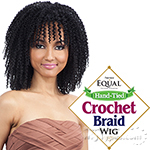 Freetress Equal Synthetic Hand-tied Crochet Braid Wig - Straw Rod Twist Out