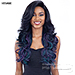 Freetress Equal Synthetic Hair 5 Inch Lace Part Volume Bang Wig - VINA