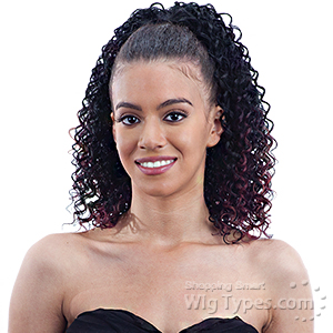 Freetress Equal Synthetic Drawstring Ponytail - BERRY GIRL