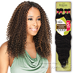 Freetress Equal Synthetic Weave - BRAZILIAN JERRY BUNDLE CURL 4PCS (17/18/19 + Closure)