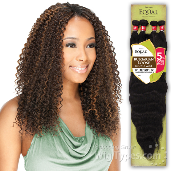Freetress Equal Synthetic Weave Brazilian Jerry Bundle