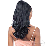 Freetress Equal Natural Me Synthetic Drawstring Ponytail - NATURAL BOUNCY CURL
