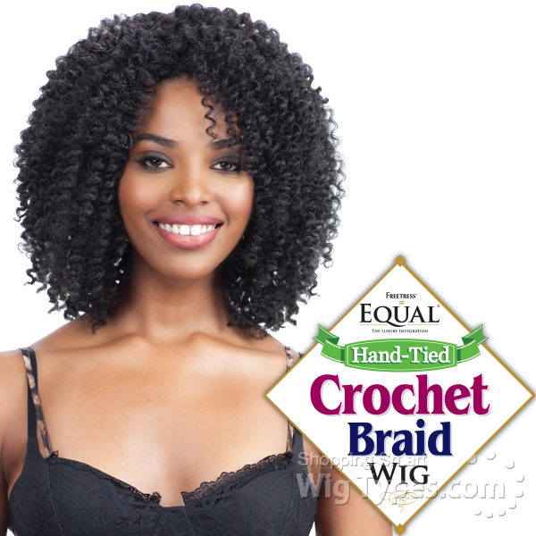 Freetress Equal Synthetic Hand Tied Crochet Braid Wig