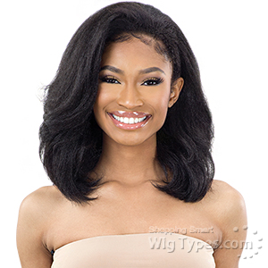 Freetress Equal Synthetic Half Wig - DRAWSTRING FULLCAP - NATURAL ROLLER SET