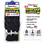 Freetress Synthetic Braid - 3X AFRICANA BRAID 84