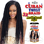 Freetress Equal Synthetic Braid - 3X CUBAN TWIST BRAID 24