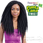 Freetress Synthetic Braid - 3X PUNTA CANA TWIST